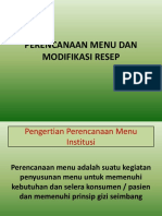 M 11 Pernc menu