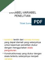5. Variabel-Variabel Penelitian (NEW)