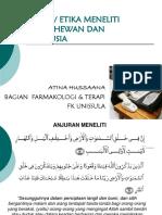 Adab Penelitian Pd Hewan Dan Manusia-Atina FIX
