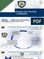 Del Servicio de Policia Comunal