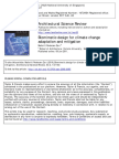Biomimetic Design for Climate Change Adaptation and Mitigation