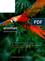 Accenture the Time for Regional Expansion is Now