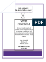 Winther Counseling Lab Promo