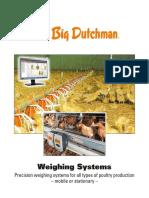 Big Dutchman Gefluegelhaltung Poultry Production Weighing Systems En