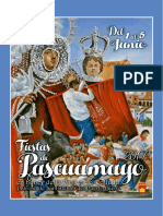 Programa de Fiestas Pascuamayo 2017, Santisteban del Puerto