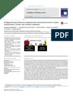 Bridging the Gap Between Comprehensive Extraction Protocols in Plant