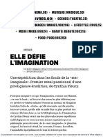 (8) Elle Défie l'Imagination - Culture _ Next