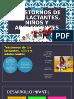 Trastornos de Los Lactantes Niños y Adolescentes