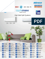 Sales Catalogue_Optimax Heat Pump_English