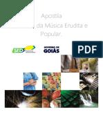 8. Caderno de História Da Música Erudita e Popular