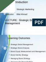Strategic Marketing Lecture 09