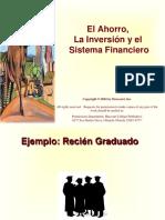 Ahorro, Inversión y Sistema Financiero