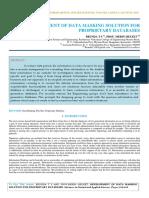 IAETSD-JARAS-Development of Data Masking Solution for Proprietary Databases