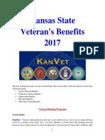 Vet State Benefits & Discounts - KS - 2017