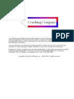 Coaching Company-Established -Standard Plan