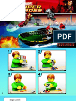 Iron Man Speedboat instructions