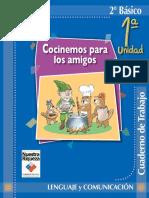 Cuaderno de trabajo 2° Lenguaje y Comunicación