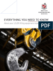 LOLER Lifting Equipment Inspection Duties eBook