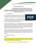 Termino de Referencia Para Estudios de Canal de Drenaje ( El Naranjo - El Cady )