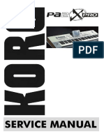 Manual Service Korg pa 2x pro.pdf