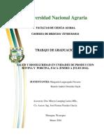 Salud y Bioseg en Unidades de Producc-Nicaragua