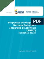 Propuesta Intregada Programa Zoonosis COLOMBIA