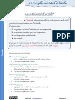4.Le Complément de l'Adverbe