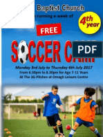 Soccer Camp Form 2017
