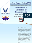 verification and validation of requirements
