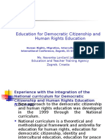 Education for Democratic Citizenship