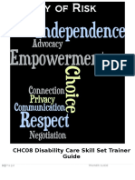 Csc Disability Care Trainer Guide