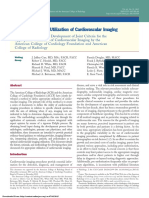 2013 Appropriate Utilization of Cardiovascular Imaging - A Methodology for the Development of Joint Criteria for the American College of Cardiology Foundation and Radiology