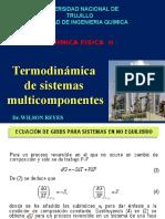 (01 y 08-09-2016) Termodinamica de Los Sistemas Multicomponentes
