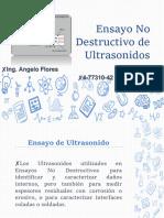 Ensayos No Destructivos Ultrasonidos