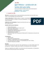 Gestión de proyectos Caso de Estudio Volkswagen México
