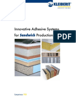 Innovative Adhesive for Sandwich Systems