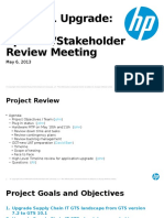 GTS Upgrade Project Key Sponsor-Stakeholder Review Meeting 5-6-13.pptx