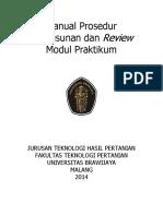 06614 MP Penyusunan Dan Review Modul Praktikum