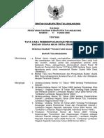 Tata Cara Pembentukan Dan Pengelolaan Badan Usaha Milik Desa (Bumdes)