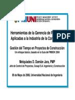 Gestion de Tiempos en Proyectos de Construccion.pdf