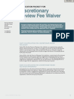 493-DR Fee Waiver