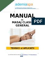 ACADEMIASPA - Manual de Masaj Clasic General Cu Anatomie