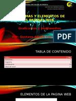 Diagramas y Elementos de Las Paginas Web