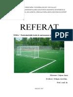 Referat Fotbal Anna