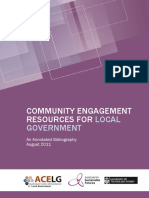 Community Engagement Resources for Local Government