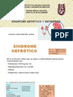 Síndrome Nefrítico y Nefrótico