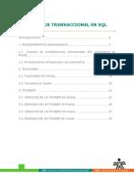 Lenguaje Transaccional en SQL