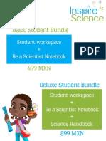 Inspire Science Bundles