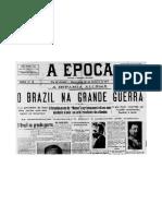 "Brasil Na Guerra ""A Epoca"""