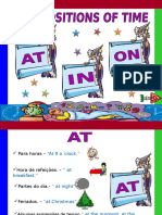 Prepositions of Time Patricia